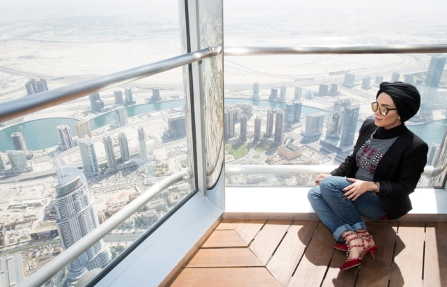 Burj Khalifa & Armani -1