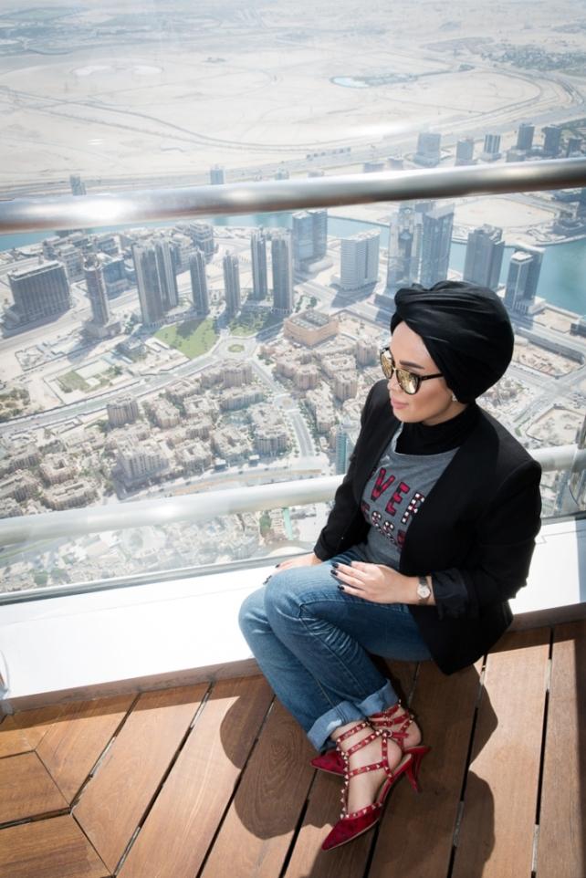 Burj Khalifa & Armani -10